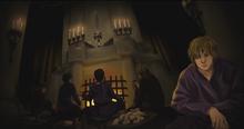 Dawn in the main hall of Starfall