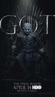 Season 8 poster Night King