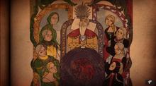 Король Визерис, зеленые и черные