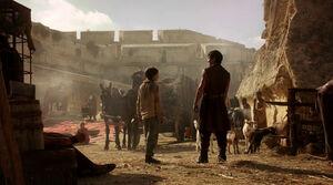 110 Arya und Gendry