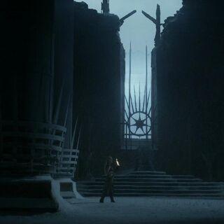 Daenerys in ihrer Vision in der Großen Halle
