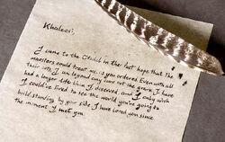Письмо Джораха 7x02