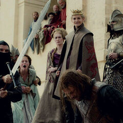 Eddard é executado por Sor <a href=
