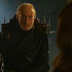 Tywin rozmawia z Cersei i Tyrionem, <a href=