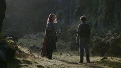 Arya and Jaqen - Valar Morghulis