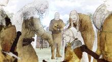 Джейме посвящают в рыцари