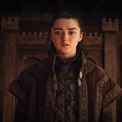 Arya ohne dem Gesicht von Walder Frey.