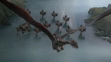 Дрогон атакует Железный флот 8x04