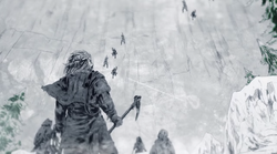 Raymun Redbeard and army climb the Wall