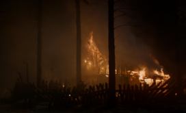 S04E5 - Craster's Keep on fire