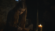 Shireen writing eltter