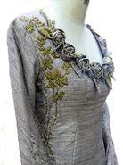 105 Sansa tournament dress embroidery