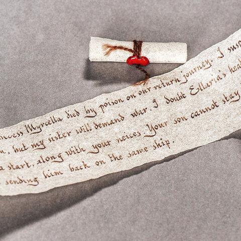 Jaimes Brief an Doran Martell