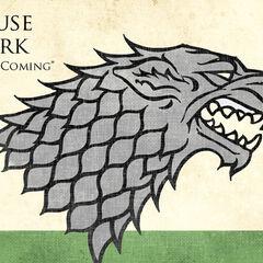 Starkų giminės simbolis ir šūkis