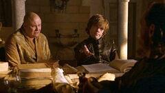 Tyrion, Varys and Bronn