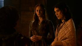 Tyrion greets Sansa