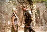 Daenerys and Jorah 2x08