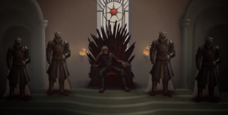 Aegon Iron Throne