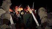 HL5 Maegor trial of seven versus Damon Morrigen
