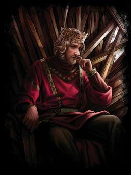 Magali VilleneuKing Aenys I upon the Iron Throne
