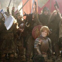 Tyrion przygotowuje górskie klany do bitwy.