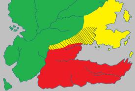 Dornish Marches map