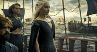 Daenerys Targaryen Sails to Westeros, Season 6 Episode 10 Preview.