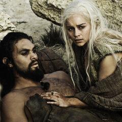 Daenerys und Drogo.