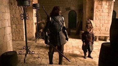 Tyrion thanks Sandor