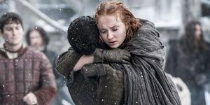 604 Jon Schnee und Sansa Stark wiedervereint