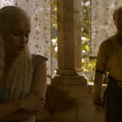 Jorah tells Dany to trust him in