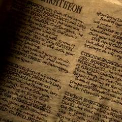 Casa Baratheon, segunda página visível.
