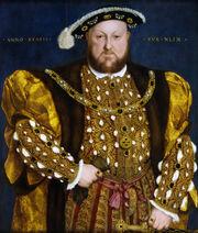 Enrique VIII de Inglaterra, por Hans Holbein el Joven