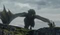 Rhaegal On Dragonstone.png