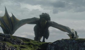Rhaegal On Dragonstone