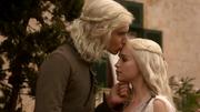 Viserys e Daenerys em Pentos