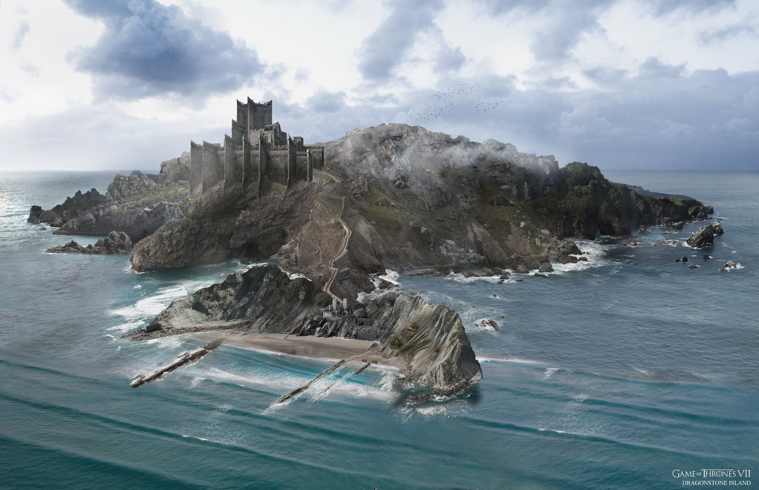 Dragonstone Island Game Of Thrones Wiki Fandom