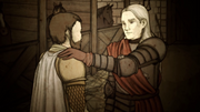 HL5 RR Barristan Rhaegar confides many changes