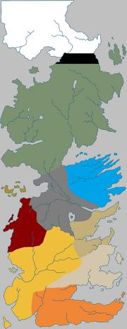 Регіони Вестеросу