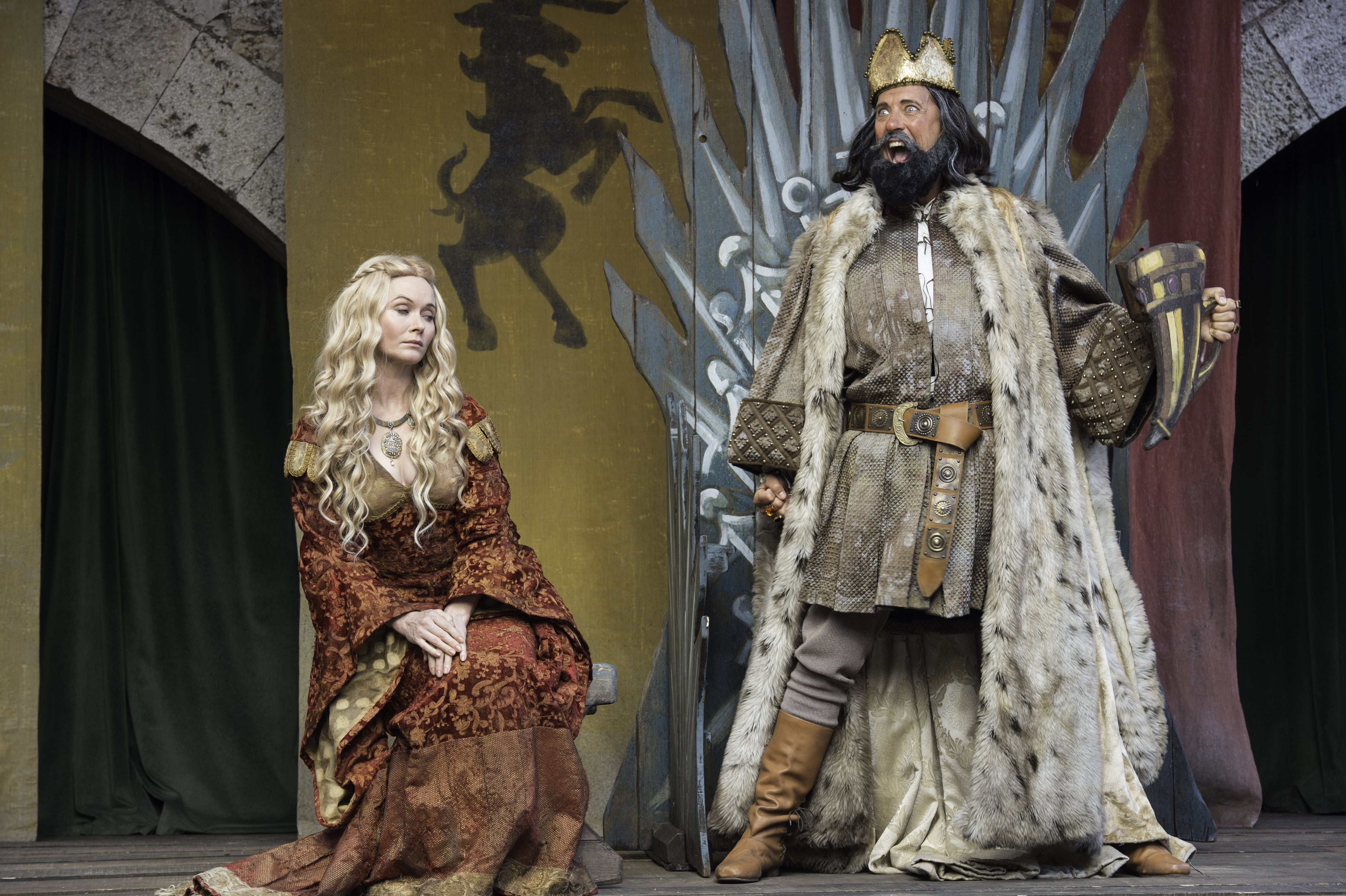 Mummers game of thrones