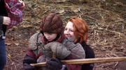 Winterfell practice gear wooden sword pilot episode