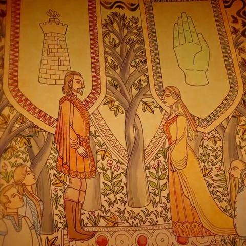 Lymond Hohenturm ehelicht die Tochter des Gärtner-Königs