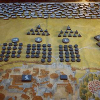 Schlachtplan Armeeaufstellung vor Winterfell