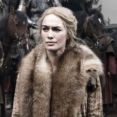 Cersei po przybyciu do Winterfell.