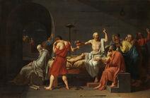 David - The Death of Socrates