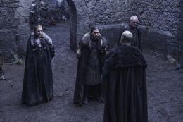 607 Sansa Stark Jon Schnee Davos Seewert