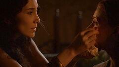 Shae cares for Sansa