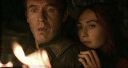 Stannis Melisandre 2x10