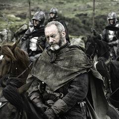 Davos towarzyszy Stannisowi.
