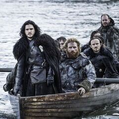 Tormund i Jon przybywają do Hardhome.